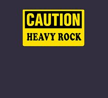 CAUTION HEAVY ROCK Unisex T-Shirt