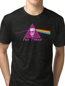 Pink Freud Tri-blend T-Shirt