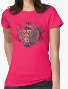 Conor Mcgregors Gorilla Tattoo Womens Fitted T-Shirt