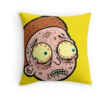 Mortyy Throw Pillow