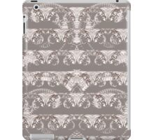 Nocturnal Animal Grey and white Feather double pattern iPad Case/Skin