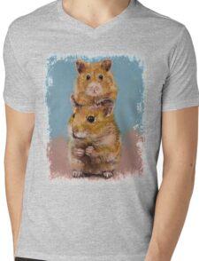 Hamsters Mens V-Neck T-Shirt