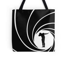Cam Newton James Bond Dab Mash-up Tote Bag