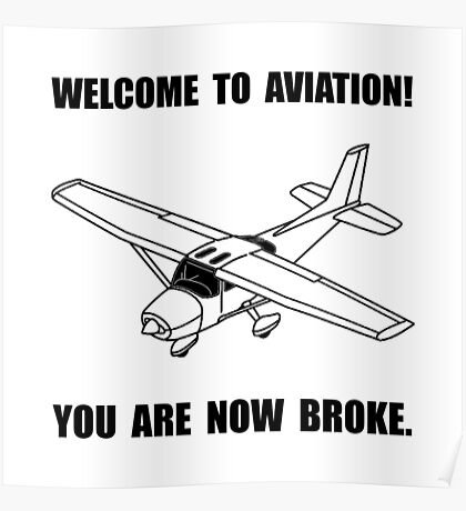 Aviation Broke Poster