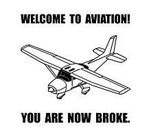Aviation Broke Photographic Print