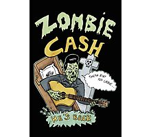 Zombie Cash Photographic Print
