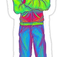 Neon Jacket Sticker