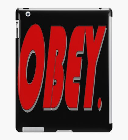 Obey. iPad Case/Skin