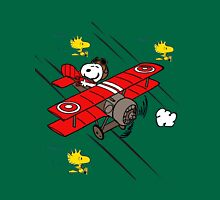 snoopy flaying Unisex T-Shirt