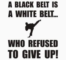Black Belt Refusal One Piece - Long Sleeve