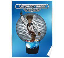 Saturday Groot Fever Poster