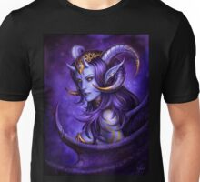 Gold and Violet Unisex T-Shirt