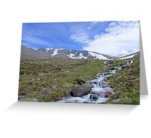 Duck-Billed Haggis, Cairn Lochan Greeting Card