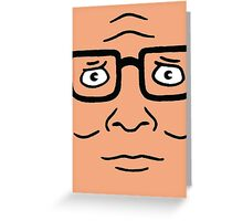 Hank Hill  Greeting Card