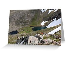 Sharp-Billed Haggis! Cairn Lochan Greeting Card