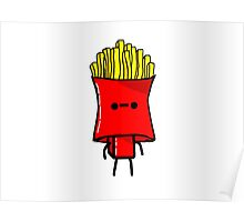 The French Fry Man Poster