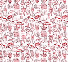 RB Germany Pattern Red by fabric8