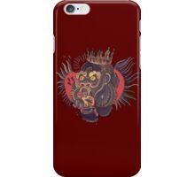 Conor Mcgregor Gorilla Tattoo (maroon) iPhone Case/Skin