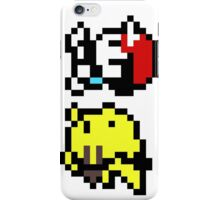 pokemon yellow 8 bit iPhone Case/Skin