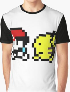 pokemon yellow 8 bit Graphic T-Shirt