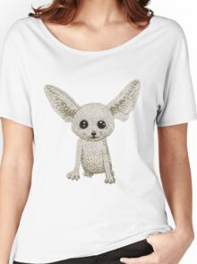Fennec fox Women's Relaxed Fit T-Shirt