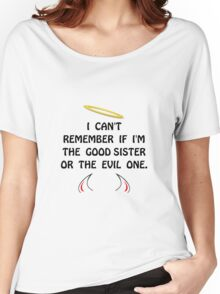 Good Evil Sister Women's Relaxed Fit T-Shirt