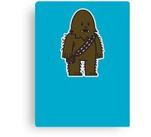 Mitesized Wookie Canvas Print