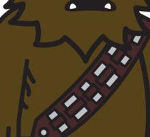 Mitesized Wookie Sticker