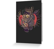 Conor Mcgregor Gorilla Tattoo (grey) Greeting Card
