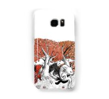 Little Red Riding Hood Print with wolf, forest Samsung Galaxy Case/Skin