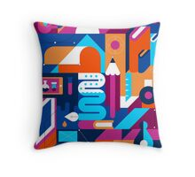 Creative Process Throw Pillow
