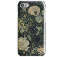 Vincent Van Gogh - Roses, April 1890 - May 1890 iPhone Case/Skin