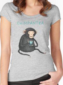 Chimpantea Women's Fitted Scoop T-Shirt