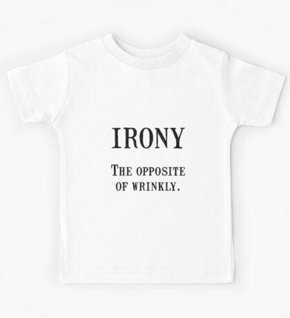 Irony Wrinkly Kids Tee