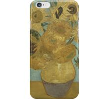 Vincent Van Gogh  - Sunflowers , Impressionism , Fine Art iPhone Case/Skin