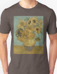 Vincent Van Gogh  - Sunflowers , Impressionism , Fine Art Unisex T-Shirt