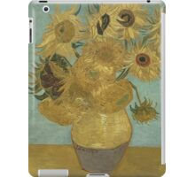 Vincent Van Gogh  - Sunflowers , Impressionism , Fine Art iPad Case/Skin