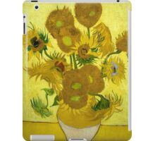 Vincent Van Gogh  - Sunflowers, 1889 iPad Case/Skin