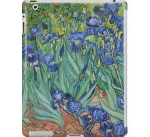 Vincent Van Gogh - Irises.  Van Gogh - Irises Impressionism Flowers 1889 iPad Case/Skin