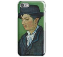 Vincent Van Gogh - Portrait of Armand Roulin, 1888 iPhone Case/Skin