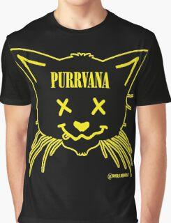 purrvana Graphic T-Shirt