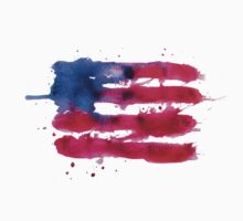Abstract watercolor flag of the USA Kids Clothes