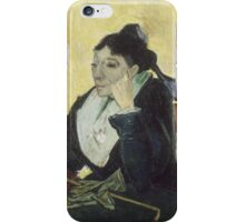 Vincent Van Gogh - The Arlesienne, 1888 iPhone Case/Skin
