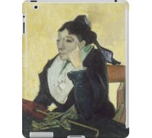 Vincent Van Gogh - The Arlesienne, 1888 iPad Case/Skin