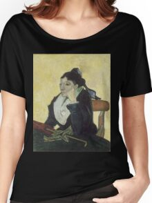 Vincent Van Gogh - The Arlesienne, 1888 Women's Relaxed Fit T-Shirt