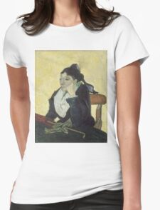 Vincent Van Gogh - The Arlesienne, 1888 Womens Fitted T-Shirt