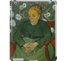 Vincent Van Gogh - La berceuse, Portrait of Madame Roulin, December 1888 - January 1889 iPad Case/Skin