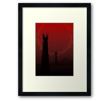 The Road to Mount Doom Framed Print