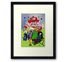 Avenger Time Framed Print