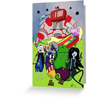 Avenger Time Greeting Card